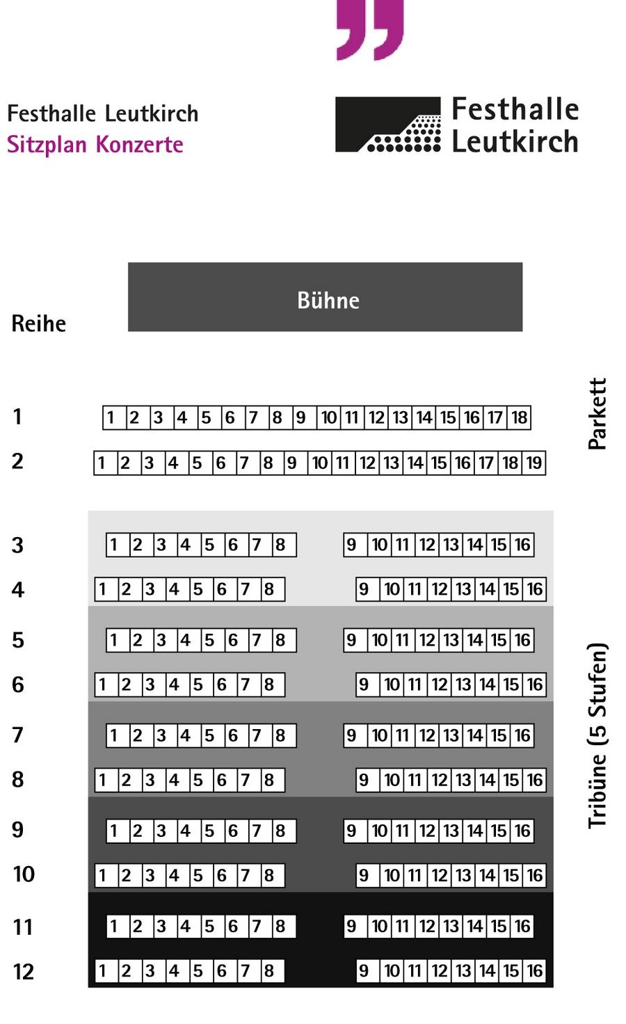 Leutkircher Klassik Sitzplan