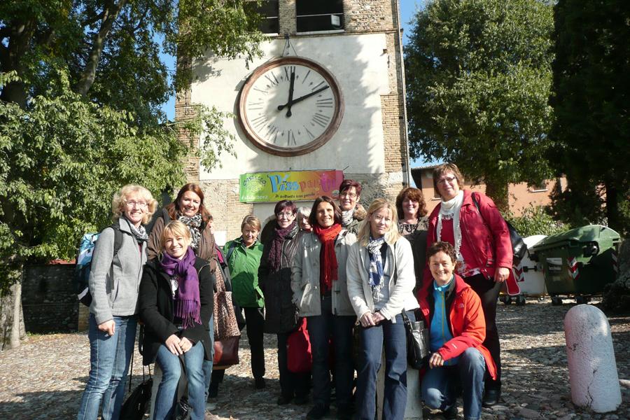 vhs-Sprachreise nach Castiglione 2012