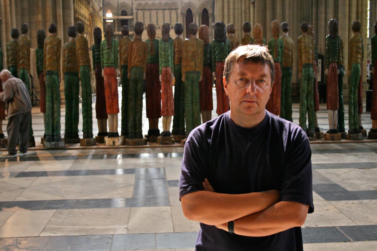 Robert Koenig vor der Odyssey