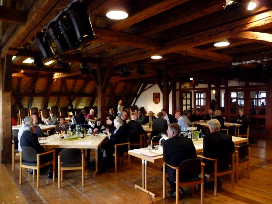vhs-Mitgliederversammlung 2013 im Bocksaal