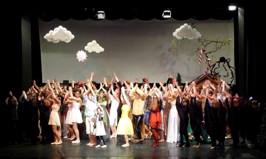 Großer Applaus für die vhs-Ballettschule