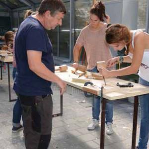 Odyssey - Schüler arbeiten mit Robert Koenig