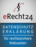 erecht24-siegel-Datenschutzerklärung