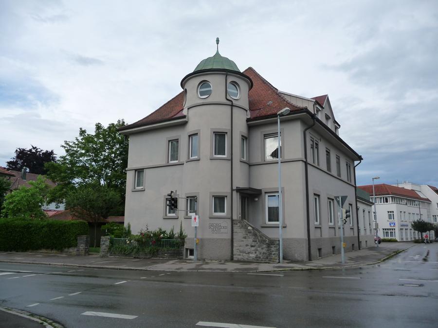 Georg-Schneider-Haus in der Bahnhofstraße 10