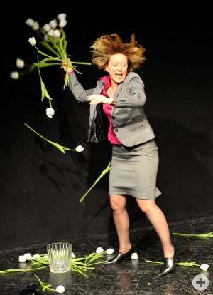Evelyn Nagel in Yasmina Rezas Gott des Gemetzels (Foto: Peter Empl)