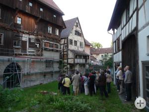 Bei der Führung durch das Leutkircher Museumsviertel