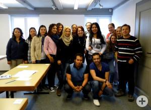 Zuwanderer aus aller Welt stellen sich der telc-Sprachprüfung
